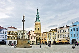 Nový Jičín Town in Moravian-Silesian, Czech Republic