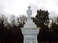 New Bradwell War Memorial - Figure of infantry soldier on top of memorial 01.jpg