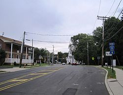 Skyline of New Monmouth, New Jersey