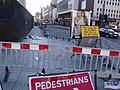 New Street Station - Hill Street - pavement closed to pedestrians (5151670872).jpg