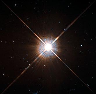 Proxima Centauri - Image: New shot of Proxima Centauri, our nearest neighbour