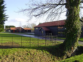 Bury Road, Lawshall - Business units at Newhall Farm