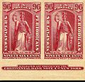Newspapers periodicals 96c pair Natl Bnk Nt 1875 issue.jpg