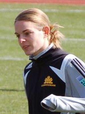 Nia Künzer - Nia Künzer, DFB Cup in Aschheim 24.03.2008