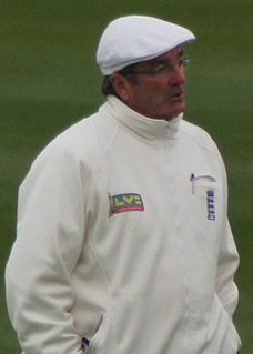 Nick Cook (cricketer) English cricketer and umpire