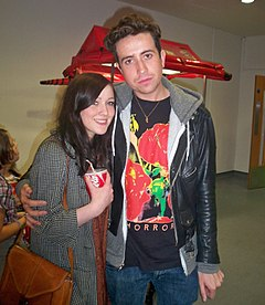 File photo of Nick Grimshaw (right) from November 21, 2009. Image: Katherine Oneill.