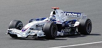 BMW Sauber F1.07 - Image: Nick Heidfeld 2007 Britain 2