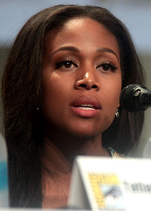Nicole Beharie - Beharie at the 2014 Comic-Con International