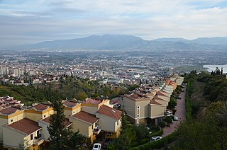 İzmit District in Marmara, Turkey