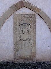 dalle funéraire de Jacobus Hemmerlin, chanoine à Niederhaslach