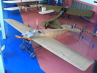 Nieuport II - Surviving late production Nieuport II.N at the Musée de l'Air et de l'Espace, Le Bourget near Paris
