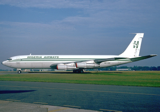 Nigeria Airways Flight 9805 - 5N-ABK, the aircraft involved in the accident, in 1993