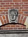 Nijmegen - Hoofd gemaakt door Egidius Everaerts op de gevel van Huis Heyendaal 08.jpg