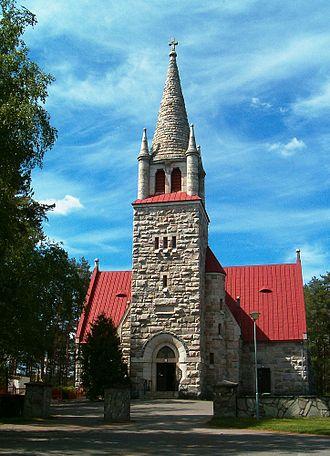 Nilsiä - Church of Nilsiä