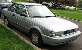 Nissan Sentra 1993 (Versión USA). Aquí en la carrocería de 2