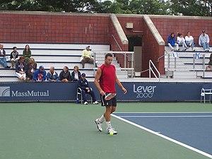 Noam Okun - Image: Noam Okun 2007 US Open