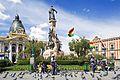 Noon, Plaza Murillo, La Paz, Bolivia (14689720998).jpg