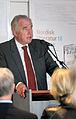 Nordiska ministerradets generalsekreterare Halldor Asgrimsson talar vid lanseringen av Nordisk litteratur til tjeneste pa Sorte diamant i Kopenhamn 2008-03-05.jpg