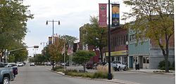 Norfolk, Nebraska Norfolk Avenue 1.JPG