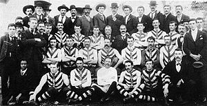 1900 SAFA season - Image: North Adelaide Premiership Team 1900