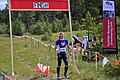 North American Orienteering Championships - Cranbrook-Kimberley - Marie Cat at the finish - (15587040244).jpg