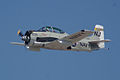 North American T-28C Trojan Sherry Berry Enemy Forces Suppression Pass 04 TICO 13March2010 (14412928419).jpg