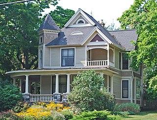 North Ann Arbor Street Historic District