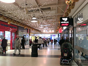 Bransholme - The interior of the North Point Centre