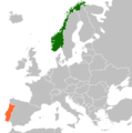 Norway Portugal Locator.png