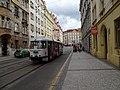 Nusle, Na Zámecké, výstupní, tramvaj linky 31.jpg