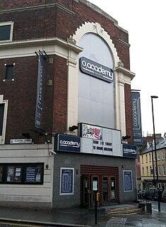 O2 Academy Newcastle music venue in Newcastle upon Tyne, a former cinema
