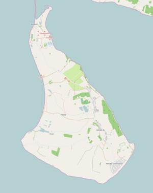 Helnæs - Map of Helnæs