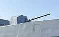 OTO Melara 76mm Gun with New Style Shield aboard ROCN Wu Chang (PFG-1207) 20141123.jpg