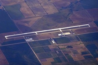 Ottawa Municipal Airport - Image: OWI OTTAWA MUNICIPAL AIRPORT FROM FLIGHT CDG IAH 777 F GSQM (10351698273)