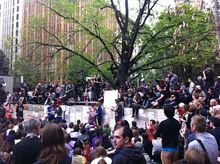 Occupy Melbourne social movement in Australia, part of the global Occupy movement
