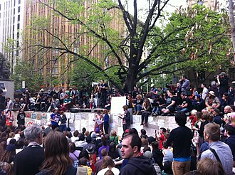Occupy Melbourne - Image: Occupy Melbourne 1st General Assembly