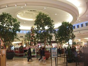 Ocean County Mall - Center court during Christmas 2006