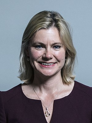 Minister for Women and Equalities - Image: Official portrait of Justine Greening crop 2