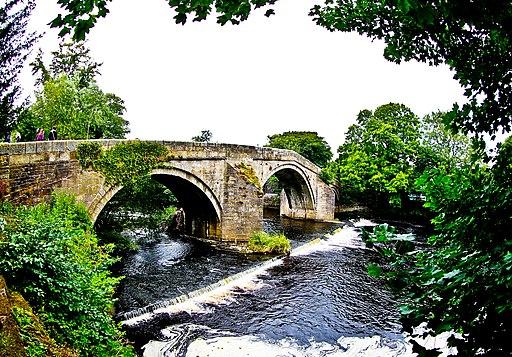 Old Bridge in Ilkley