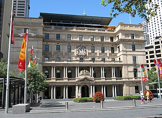 Customs House, Sydney - The former Customs House in Circular Quay, Sydney
