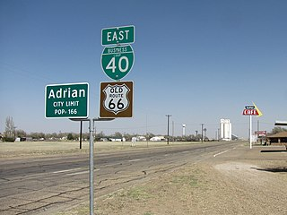 Adrian, Texas City in Texas, United States