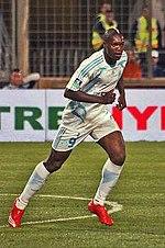 Olympique de Marseille - Girondins de Bordeaux 2007 2008 Djibril Cissé.jpg