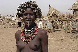 Daasanach people - A Daasanach woman