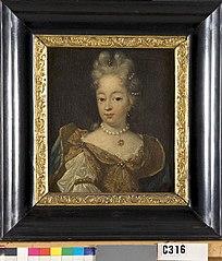 Portret van een jonge vrouw van de familie Hoynck van Papendrecht