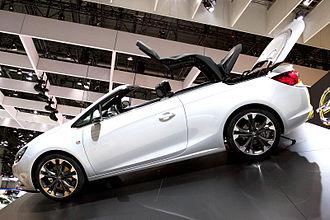 Opel Cascada - Image: Opel Cascada