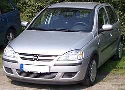 Opel Corsa C (El Chevrolet Corsa es casi igual)