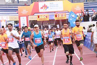 World 10K Bangalore - Image: Open 10K