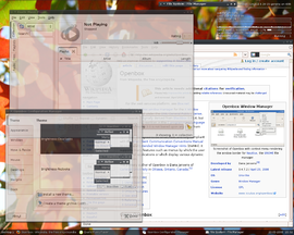Screenshot di Openbox