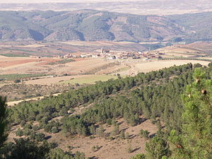 Sierra de Santa Cruz, Aragon - Sierra de Santa Cruz near Orcajo
