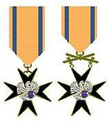 Orde van het Adelaarskruis Estland tweemaal